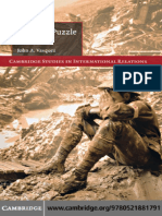 Cambridge Studies in International Relations John a. Vasquez the War Puzzle Revisited Cambridge University Press 2009
