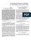 Reduced Order Generalized Integrators With Phase