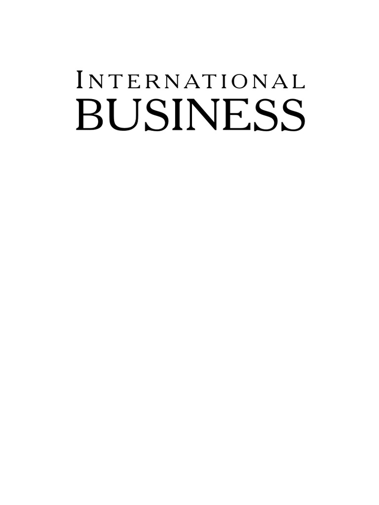 International Business Theory And Practice Foreign Exchange Market Circuitry Options Signal Processing Ataverage Conversational Levels Fixed Rate System