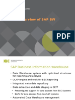 SAP BW - Intro