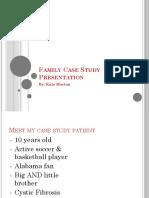 family case study presentation - final