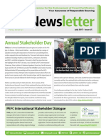 PEFC UK Newsletter July 2017 - issue 45
