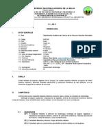 Silabo Dendrología 2017-i ( Por Competencia)