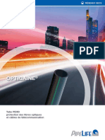 FC Fourreau PE Fibre Optique Optigaine 0415