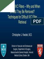Kwolek-Temporary IVC Filters