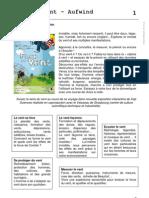"""Dossier pédagogique - exposition """"Face au vent"""""""