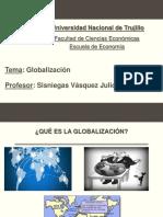 Globalización Luis Salcedo