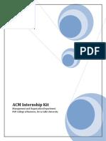 ACM-S004 Internship Kit