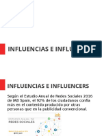 Influencias e Influencers