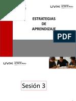 Sesion 3 Estrategias de Aprendizaje Del 19 de Junio Del 2017