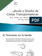Cálculo y Diseño de Cintas Transportadoras Clase 2