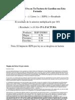 Calcular Iva Factura 2010