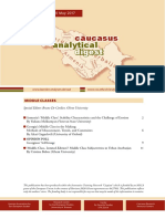 Caucasus Analytical Digest 95