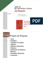 INF030 Aula01 Projeto de Pesquisa