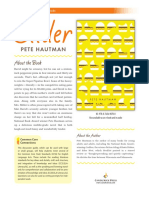 Slider by Pete Hautman Discussion Guide