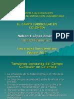 El Campo Curricular en Colombia