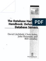 The Database Hackers Handbook