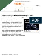 Lechon Belly (Ala Lechon Cebu) Recipe _ Filipino Food Recipes