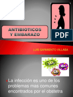 Antibioticos en Embarazo