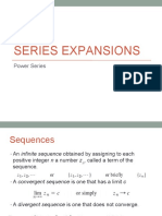 2 Series Expansions Power Series