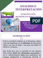 1. Analisis e Interpretación