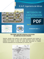 Metodos de Explotacion Subterranea 6ta c