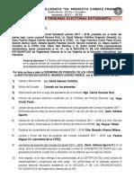 Ceremonia Posesion Del Cosejo Estudiantil 2017-2018