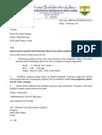 Surat Bantuan Persekolahan