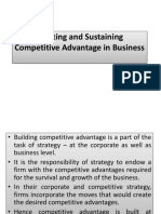 Creating and Sustaining Competitive Advantage in Business