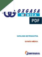 Catalogo General Oxgasa Medica 2015