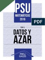 Mat 4 2016 - Datos y Azar