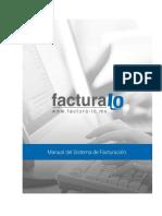 Manual Del Sistema de Facturacion 2.0