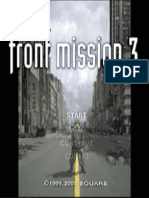 Front Mission 3 Guide
