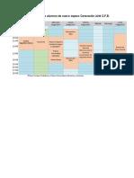Calendario de Actividades Para Alumnos de Nuevo Ingreso Q.F.B. Generación 2018