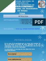 Tratajo de Petrologia