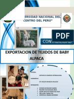 Exportacion Baby Alpaca Falta Aun
