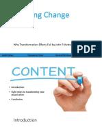 Kotter Leading Change Article Presentation