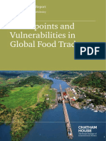 Chokepoints and Vulnerabilities in Global Food Trade