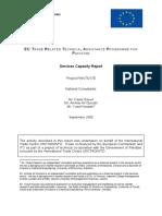 Services Capacity Report TRTA