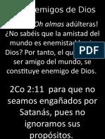 Los Enemigos de Dios