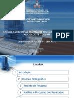 Apresentação -Analise Estrutural Do Edificio Da Caixa Economica de Tucuruí