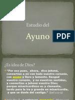 Estudio Del Ayuno