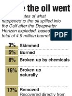 Where the Gulf Oil Went