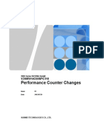 Appendix 5 3900 Series WCDMA NodeB V200R014C00SPC310 Performance Counter Changes