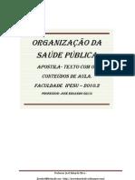 APOSTILA PARA ORGANIZAÇÃO DA SAÚDE PÚBLICA 2010.2