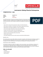 Soa Governance Using Oracle Enterprise Repository 11g