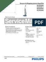 philips aquatrio FC7070_01 Esploso Manuale