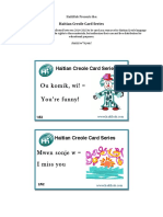 Creole Complete Flashcard Series