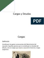 DERECHO CIVIL VIII (SUCESIONES) - Derecho de Sucesiones, Cargas y Deudas de La Herencia