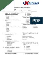 Examen Parciales - 4to Año Secundaria